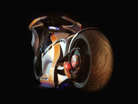 TEM01 Elektro-Motorrad