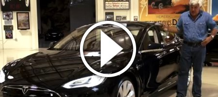 Tesla Model S Jay Lenos Garage