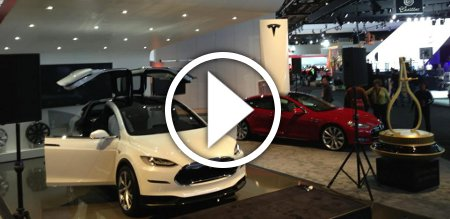 Tesla Motors Detroit NAIAS 2013