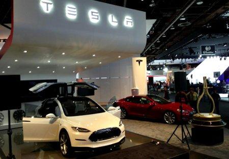 Tesla Motors Detroit NAIAS 2013