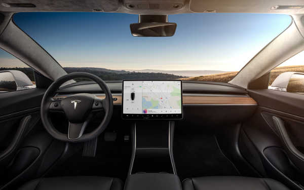 Tesla Model 3 2017 Serie Interieur
