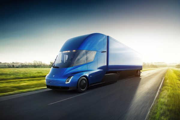 Tesla Semi Truck 2017