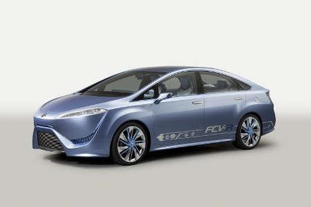 Toyota FCV-R mit Brennstoffzelle