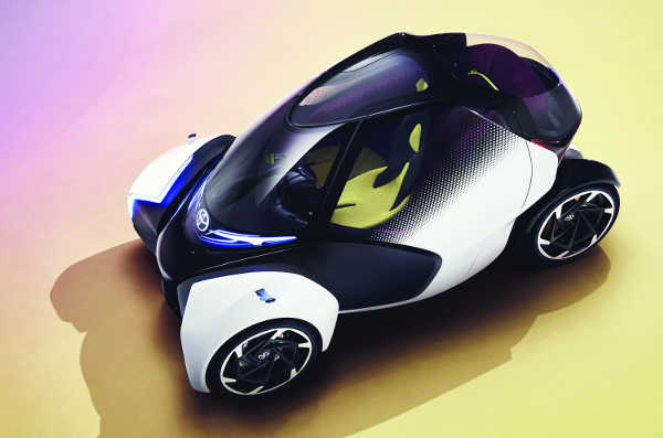 Toyota i-TRIL Concept Genfer Autosalon 2017