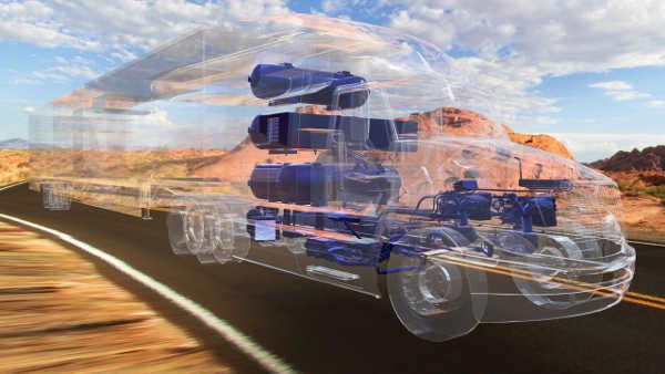 Toyota Kenworth Glider H2 Truck