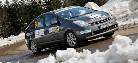 Toyota gewinnt Rallye Monte Carlo für alternative Antriebe 2013