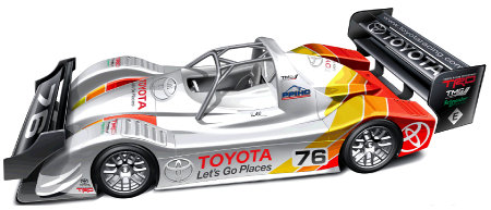 Toyota TMG EV P002 2013