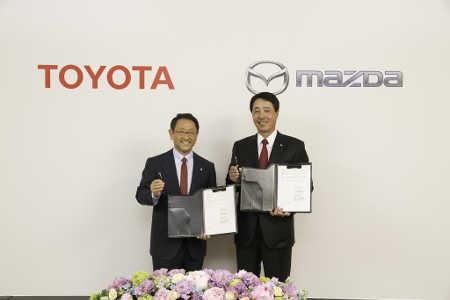 Toyota Mazda Kooperation