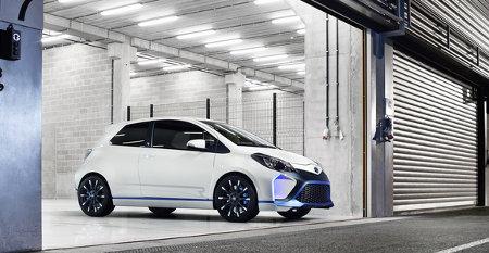 Toyota Yaris Hybrid-R Concept IAA 2013