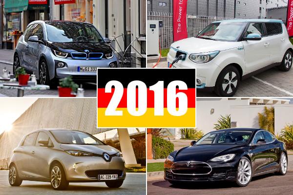 Elektroauto Zulassungen Deutschland 2016