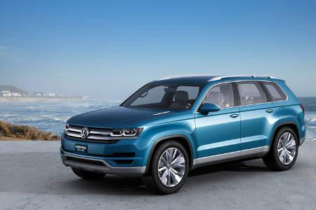 VW CrossBlue Hybrid Concept