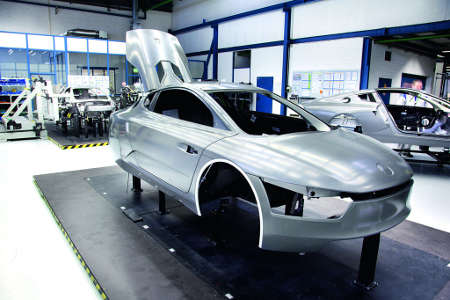 VW XL1 Serienproduktion
