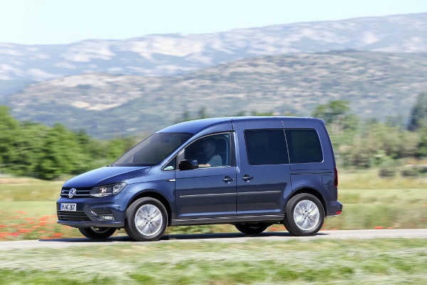 VW Caddy TGI Blue Motion DSG