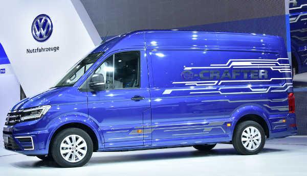 VW E-Crafter Studie IAA für Nutzfahrzeuge 2016