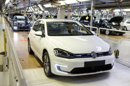 VW e-Golf 2014 Produktion