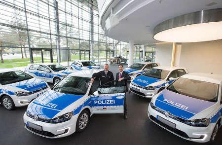 VW e-Golf Polizei Niedersachsen