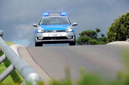 VW e-Golf Polizei Einsatzfahrzeug