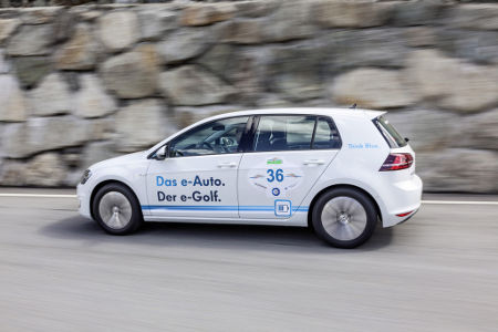 VW e-Golf WAVE Trophy 2014