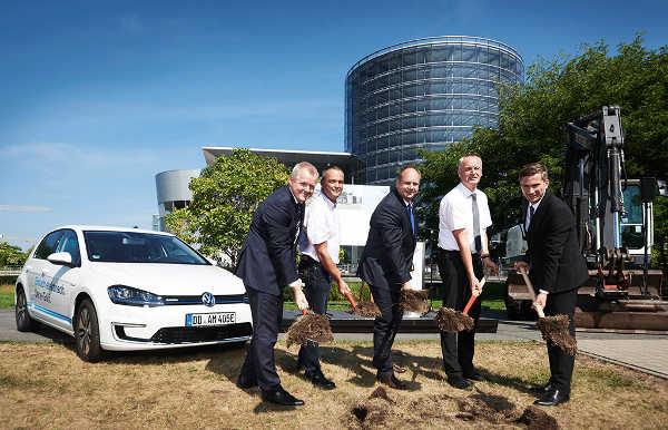 Volkswagen e-Mobility-Station Gläserne Manufaktur Dresden