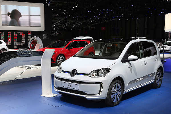 VW e-up Facelift 2016