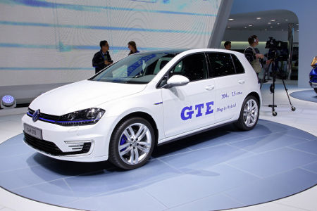 VW Golf GTE Plug-in-Hybrid 2014