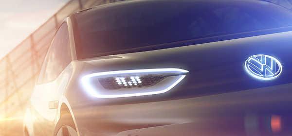 Volkswagen Elektroauto Studie Pariser Autosalon 2016