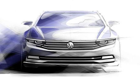 VW Passat VIII 2014