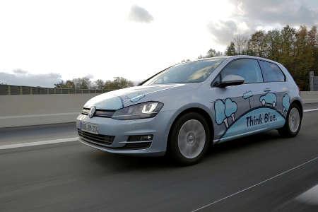 VW Golf TDI Blue Motion Think Blue Eco Ride