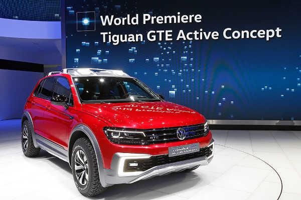 VW Tiguan GTE Active Concept NAIAS 2016