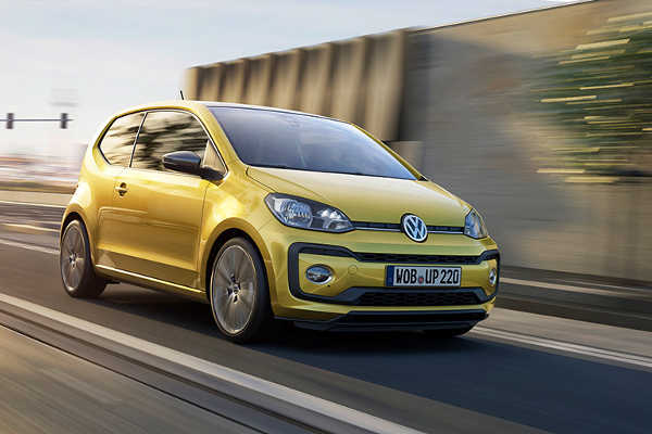 VW up Facelift 2016