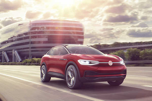 VW I.D. Crozz IAA 2017