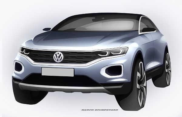 VW T-Roc 2017 Teaser