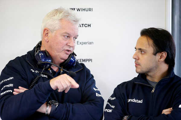 Felipe Massa & Pat Symonds Williams F1